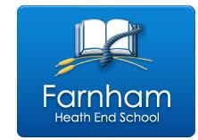 heath end school logo